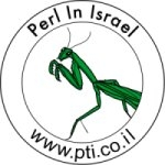 Perl Training Logo: Praying Mantis